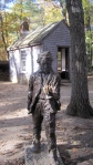 03. Thoreau statue, house replica