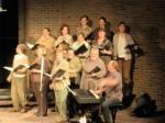 The Choir belts it out