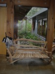 Woodcraft bench, Wicki Foyer