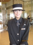 Kyoto hotel greeter