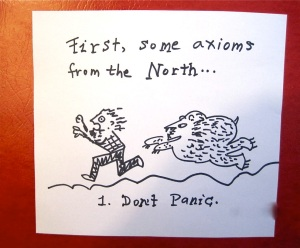 2.Don't Panic (or they will think you're prey)