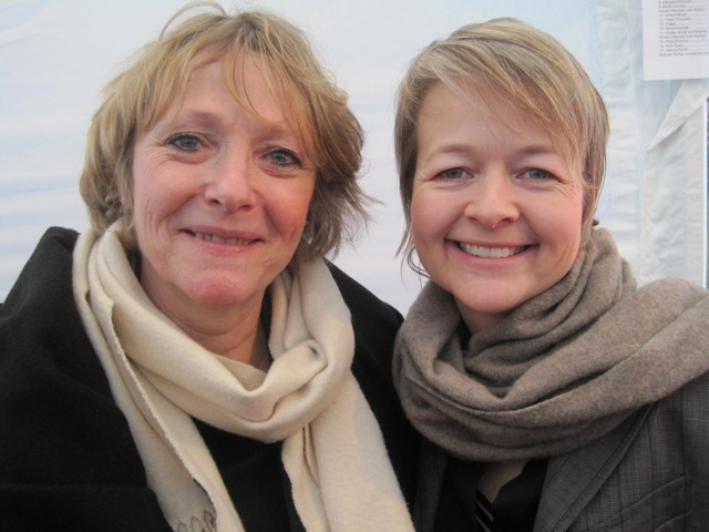 5. Lennie Goodings & Sarah Waters